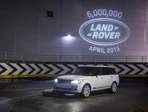 Land Rover произведе 6 милиона автомобила