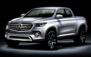Пикапът на Mercedes ще се прави от Nissan