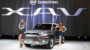 Ssangyong XAV – електрическо Musso за 21 век?