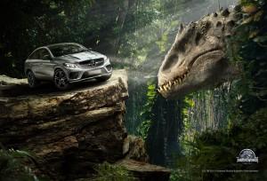 Mercedes показа героите си от Jurassic World