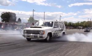 Най-бързият Jeep Cherokee в света: 1/4 миля за 8 секунди