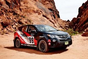 Toyota RAV4 с рали версия за шампионата на САЩ