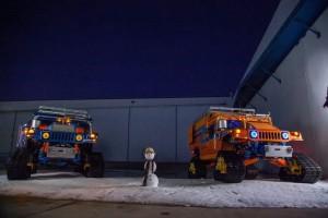 Zero South: до Южния полюс с екологичен… Hummer!