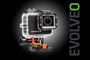 Нова бюджетна екшън камера Evolveo Sportcam W8