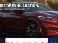 Запознайте се с електрическия SUV Mustang Mach E