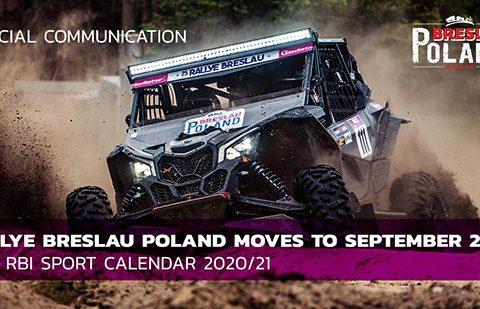 Отлагат рали Breslau Poland 2020 за септември