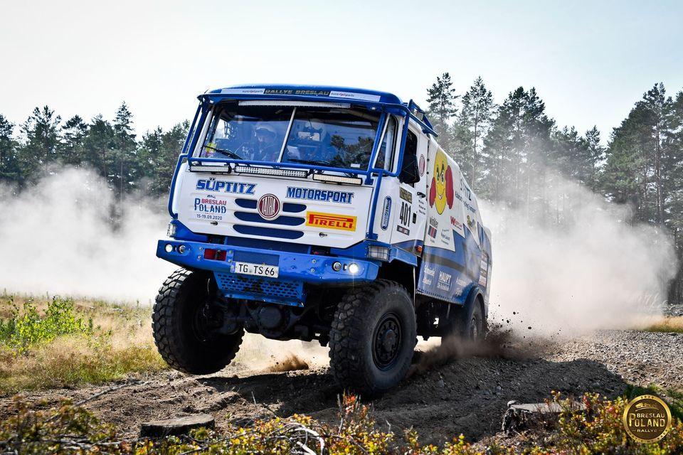 Breslau Poland 2020: trucks stage 1