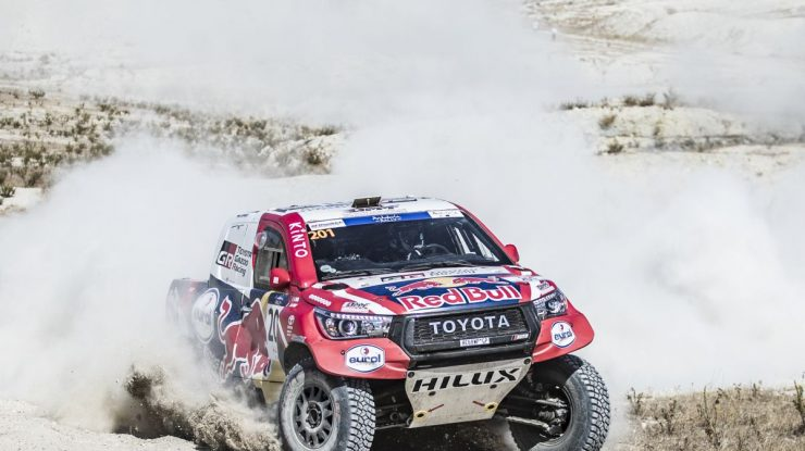 Nasser Al-Attiyah performs at SS1of Rally Andalucia in Villamartin, Spain on October 7, 2020 // Kin Marcin/Red Bull Content Pool // SI202010070333 // Usage for editorial use only //